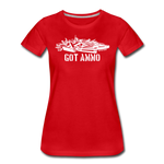 GOT AMMO WOMENS - red