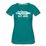 GOT AMMO WOMENS - teal