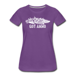 GOT AMMO WOMENS - purple