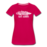 GOT AMMO WOMENS - dark pink