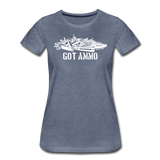 GOT AMMO WOMENS - heather blue