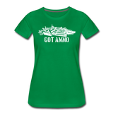 GOT AMMO WOMENS - kelly green