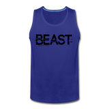 BEAST TANKTOP - royal blue