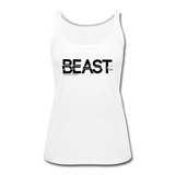 BEAST TANKTOP WOMANS - white