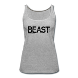 BEAST TANKTOP WOMANS - heather gray