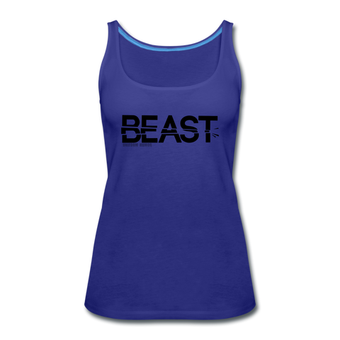 BEAST TANKTOP WOMANS - royal blue