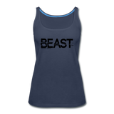 BEAST TANKTOP WOMANS - navy