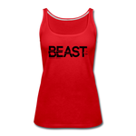BEAST TANKTOP WOMANS - red