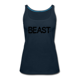 BEAST TANKTOP WOMANS - deep navy