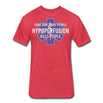 Hypoperfusion - heather red