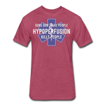 Hypoperfusion - heather burgundy
