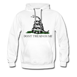 DON'T TREAD ON ME HOODIE - white