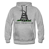 DON'T TREAD ON ME HOODIE - heather gray