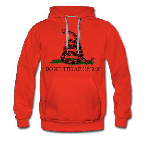 DON'T TREAD ON ME HOODIE - red