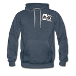 BlackJack MX Hoodie - heather denim