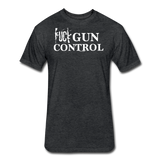 GUN CONTROL - heather black