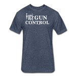 GUN CONTROL - heather navy