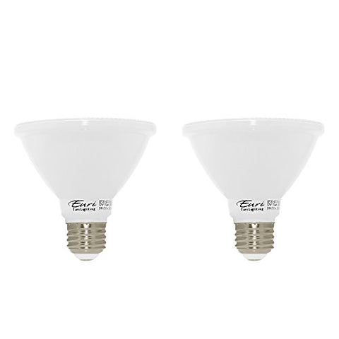 Euri Lighting Ep30-4000Cecws-2 Led Par30 Short Neck Bulb, E-Lite Line, Soft White 3000K, Dim 12W (75W Equivalent) 850 Lumen, 40 Degree Beam Angle, 90+ Cri, E26, Ul, E-Star Listed, Cec