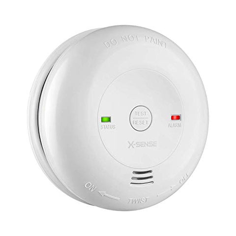 X-Sense Carbon Monoxide Alarm Cm01, Battery Powered Co Detector With Test/Reset Button, Precise Electrochemical Sensor, Ul Listed &Amp; Batteries Included