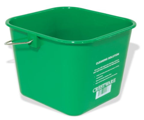 Crestware Bucsg 3-Quart Cleaning Bucket, Small, Green