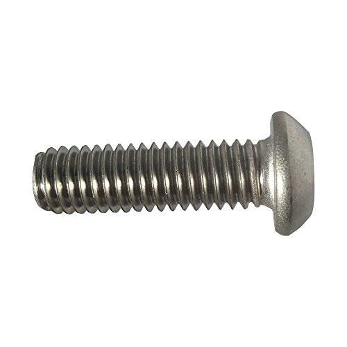 5//16-18 x 1-1//4 Button Head Torx Security Machine Screw Bolt Screws Stainless Steel Tamper Resistant Qty 10 Thread Size 5//16-18 x 1-1//4 Length by Fastenere