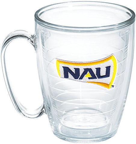 Tervis Northern Arizona Nao Box Emblem Individual Mug, 16 Oz, Clear