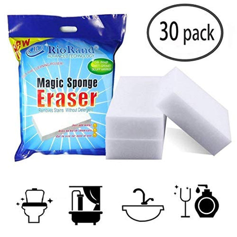 Riorand Rr-Clener-Sp-30 Magic Cleaning Eraser Sponge Melamine Foam 90 X 60 X 30Mm 906030