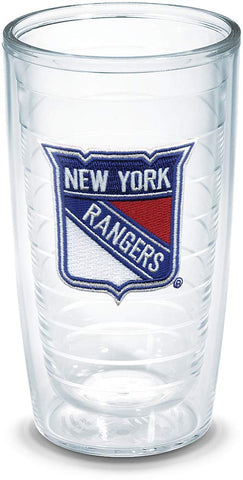 "Tervis 1044847""Nhl New York Rangers"" Tumbler, Emblem, 16 Oz, Clear"