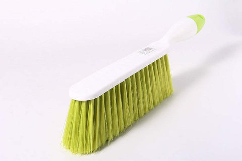 Coolhome Counter Duster Bed Sheets Debris Cleaning Brush Soft Bristle Clothes Desk Sofa Duster Small Particles Hair Remover (Green)
