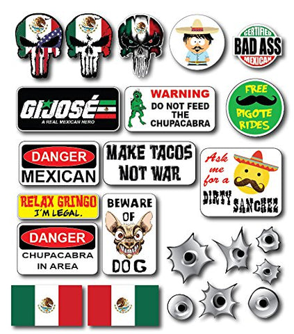 Mexican Crude Humor Hilarious Hard Hat Prank Decal Joke Sticker Funny Laugh Construction Lol