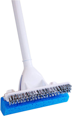 Quickie Mop With Scrub Brush