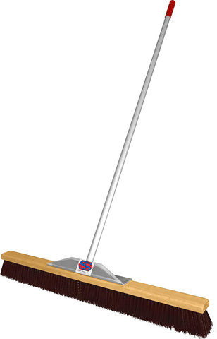Super Sweep 36-Inch Maroon Poly Broom