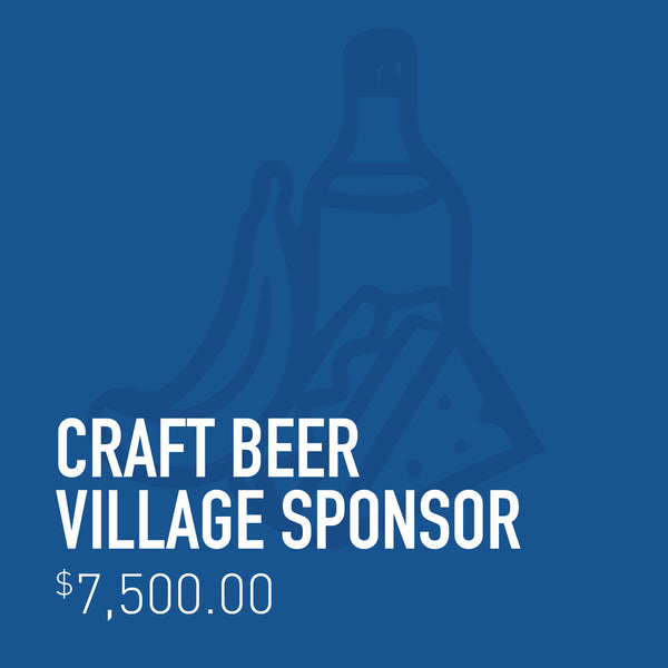 Craft Beer Village Sponsor
