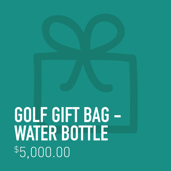 Golf Gift Bag - Water Bottle