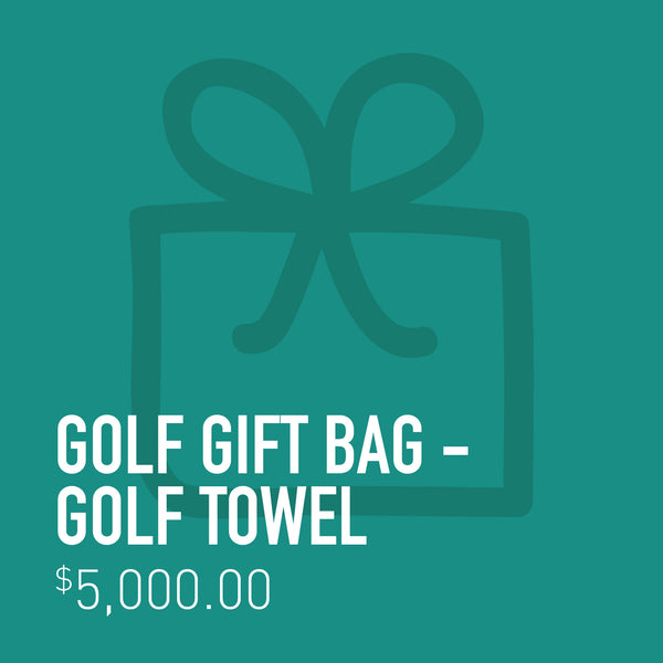 Golf Gift Bag - Golf Towel