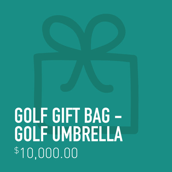 Golf Gift Bag - Golf Umbrella