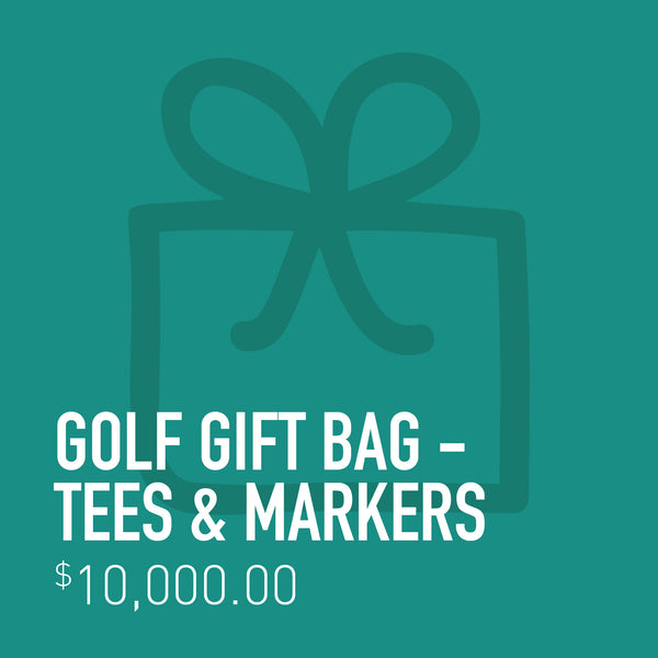 Golf Gift Bag - Tees & Marker