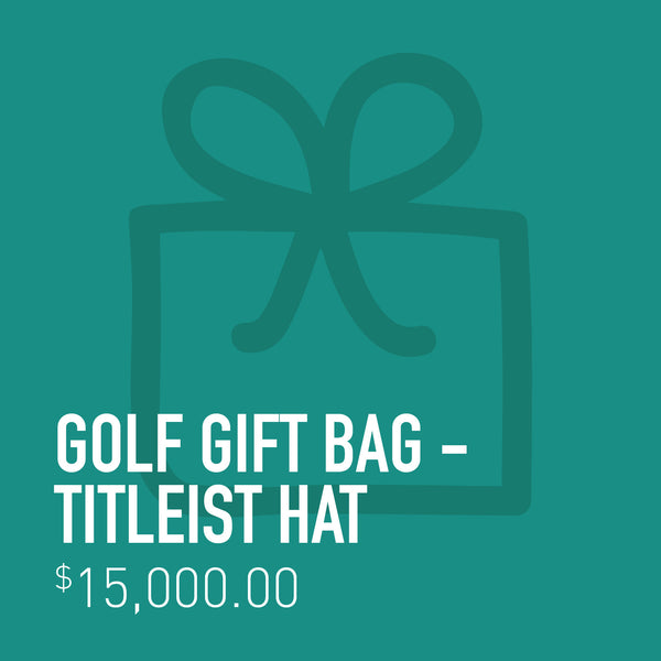 Golf Gift Bag - Titleist Hat