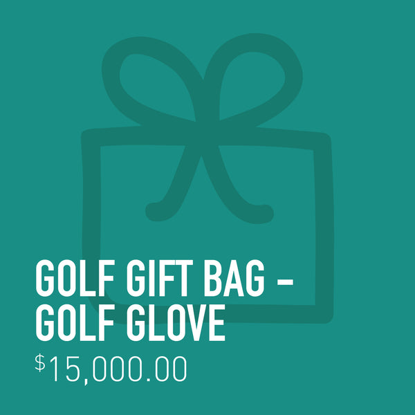 Golf Gift Bag - Golf Glove
