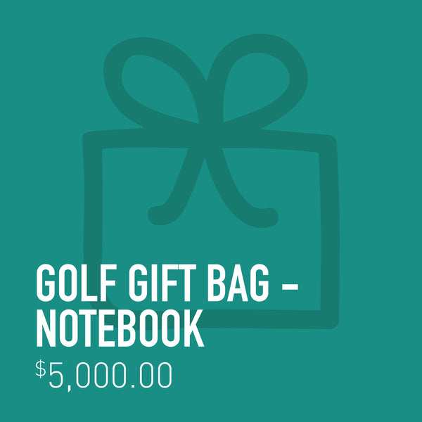 Golf Gift Bag - Notebook
