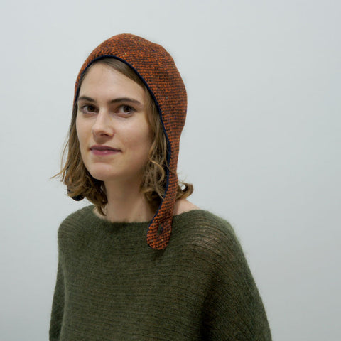 Wool hat Emma Vintage Orange