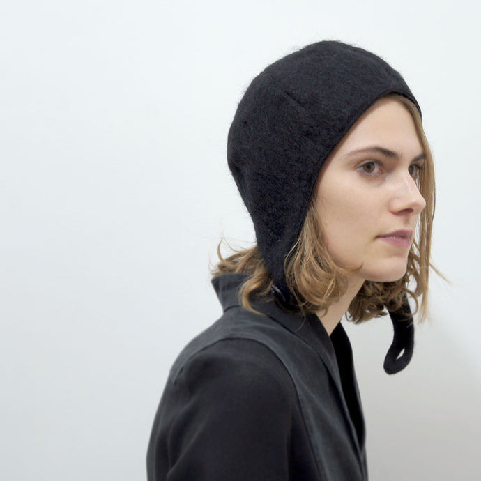 Wool hat Emma Black