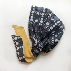 Polka Dots cotton Head Covering scarf