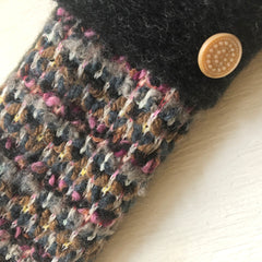 Mittens Pink, Gray