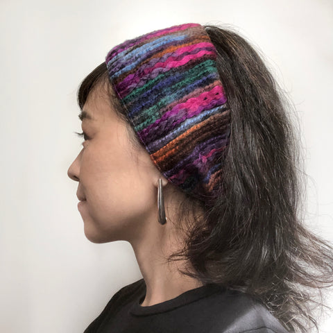 Winter Wide Headband Ear warmer Multicolorful