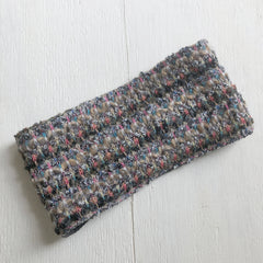 Winter Wide Headband Ear warmer Cream