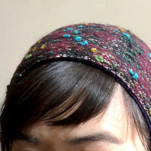 Winter Wide Headband Purple