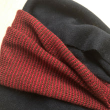 Earwarmer Knot Headbands Red