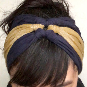 Earwarmer Knot Headbands Yellow