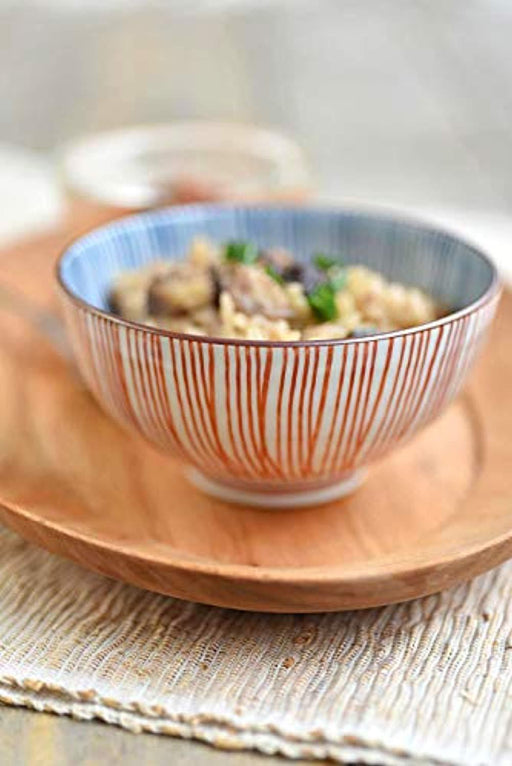 Traditional  Porcelain Rice Bowls Set of 2
